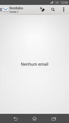 Como configurar seu celular para receber e enviar e-mails - Sony Xperia E4G - Passo 3
