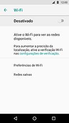 Como configurar uma rede Wi-Fi - Motorola Moto X4 - Passo 5