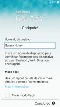 Como configurar pela primeira vez - Samsung Galaxy Note - Passo 14