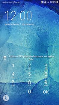 Como configurar pela primeira vez - Samsung Galaxy J7 - Passo 4