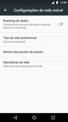 O celular não recebe chamadas - Motorola Moto G5 Plus - Passo 7