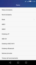 Como encontrar o número de IMEI do seu aparelho - Huawei Y6 - Passo 4