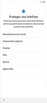 Como configurar pela primeira vez - Samsung Galaxy A50 - Passo 14