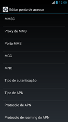 Como configurar a internet do seu aparelho (APN) - Motorola RAZR MAXX - Passo 11