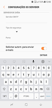 Como configurar seu celular para receber e enviar e-mails - Samsung Galaxy J6 - Passo 13