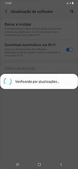 Como atualizar o software do seu aparelho - Samsung Galaxy A50 - Passo 6