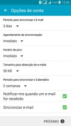 Como configurar seu celular para receber e enviar e-mails - Samsung Galaxy Grand Prime - Passo 7