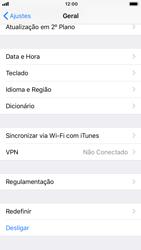 Como restaurar as configurações originais do seu aparelho - Apple iPhone 8 - Passo 4
