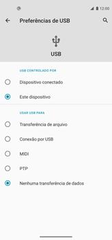 Como transferir arquivos do computador (Windows) para seu aparelho - Motorola Moto G8 Power - Passo 5