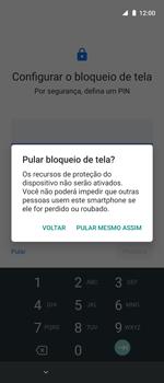 Como ativar seu aparelho - Motorola One Action - Passo 10