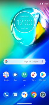 Como conectar à internet - Motorola Moto G8 Power - Passo 1