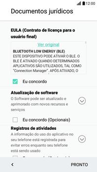 Como configurar pela primeira vez - LG G5 Stylus - Passo 13