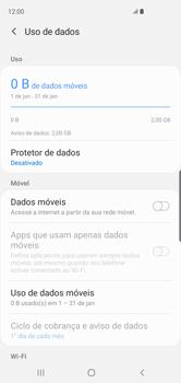 Como ativar e desativar uma rede de dados - Samsung Galaxy S10 - Passo 6