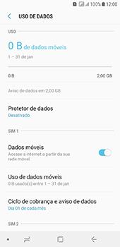 Como ativar e desativar uma rede de dados - Samsung Galaxy J6 - Passo 5