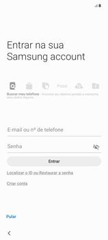 Como configurar pela primeira vez - Samsung Galaxy Note 20 5G - Passo 16