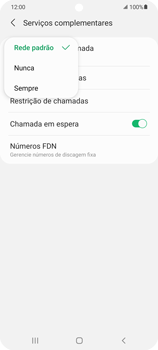 O celular não faz chamadas - Samsung Galaxy S21 Ultra 5G - Passo 18