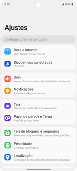 Como ativar e desativar o roaming de dados - LG K62 - Passo 3