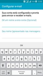 Como configurar seu celular para receber e enviar e-mails - Samsung Galaxy Grand Prime - Passo 9