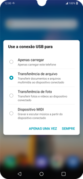 Transferir dados do telefone para o computador (Windows) - LG K40S - Passo 4