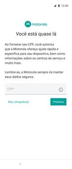 Como ativar seu aparelho - Motorola One Action - Passo 14