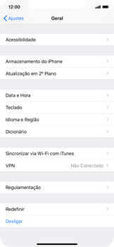 Como restaurar as configurações originais do seu aparelho - Apple iPhone XR - Passo 4