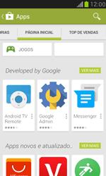 Como baixar aplicativos - Samsung Galaxy S III Mini - Passo 5