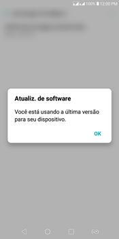 Como atualizar o software do seu aparelho - LG K12+ - Passo 7
