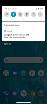 Como transferir arquivos do computador (Windows) para seu aparelho - Motorola Edge - Passo 4