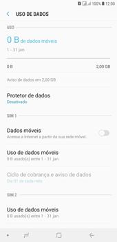 Como ativar e desativar uma rede de dados - Samsung Galaxy J4+ - Passo 6