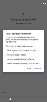 Como configurar pela primeira vez - Motorola Moto G8 Power - Passo 5