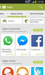 Como baixar aplicativos - Samsung Galaxy Core Plus - Passo 5
