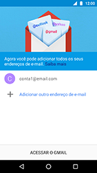 Como configurar seu celular para receber e enviar e-mails - Motorola Moto X4 - Passo 21