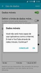 Como ativar e desativar uma rede de dados - Samsung Galaxy J2 Duos - Passo 5