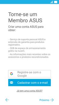 Como configurar pela primeira vez - Asus ZenFone 3 - Passo 17