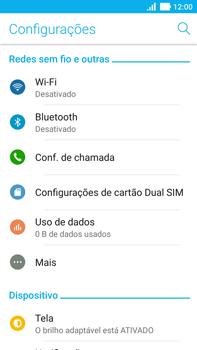 Como configurar a internet do seu aparelho (APN) - Asus ZenFone 3 - Passo 3