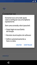 Como ativar seu aparelho - Motorola Moto X4 - Passo 8