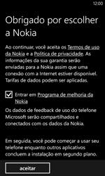 Como configurar pela primeira vez - Nokia Lumia 1020 - Passo 9