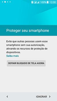 Como configurar pela primeira vez - Samsung Galaxy J7 - Passo 11