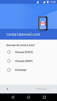 Como configurar seu celular para receber e enviar e-mails - Motorola Moto G (4ª Geração) - Passo 11