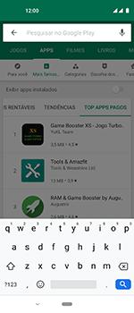 Como baixar aplicativos - Motorola One Vision - Passo 10