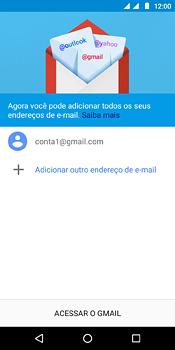 Como configurar seu celular para receber e enviar e-mails - Motorola Moto E5 - Passo 12
