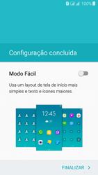 Como configurar pela primeira vez - Samsung Galaxy J3 Duos - Passo 17