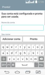 Como configurar seu celular para receber e enviar e-mails - LG G2 Lite - Passo 16