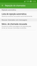 Como bloquear chamadas de um número específico - Samsung Galaxy J2 Duos - Passo 7