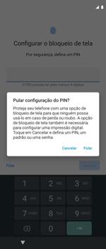 Como ativar seu aparelho - Motorola Moto G 5G Plus - Passo 9