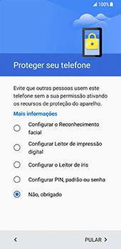 Como ativar seu aparelho - Samsung Galaxy S8 - Passo 11