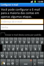 Como configurar seu celular para receber e enviar e-mails - Huawei U8667 - Passo 6