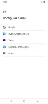 Como configurar seu celular para receber e enviar e-mails - Samsung Galaxy A50 - Passo 8