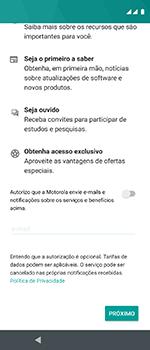Como configurar pela primeira vez - Motorola One Vision - Passo 19