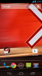 Explicação dos ícones - Motorola Moto X (1ª Geração) - Passo 14